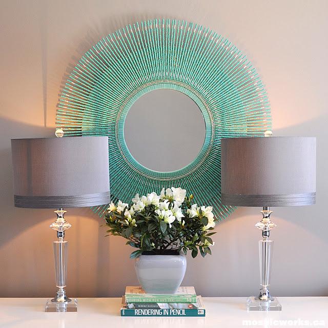 Como Hacer Un Espejo Decorativo Cool Decoracion Caracoles