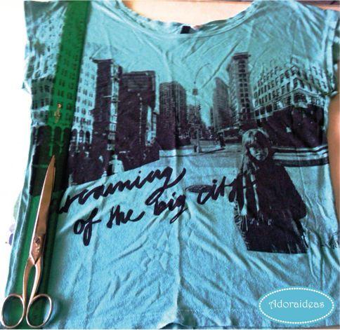 camiseta-flecos-customizada-paso1-adoraideas