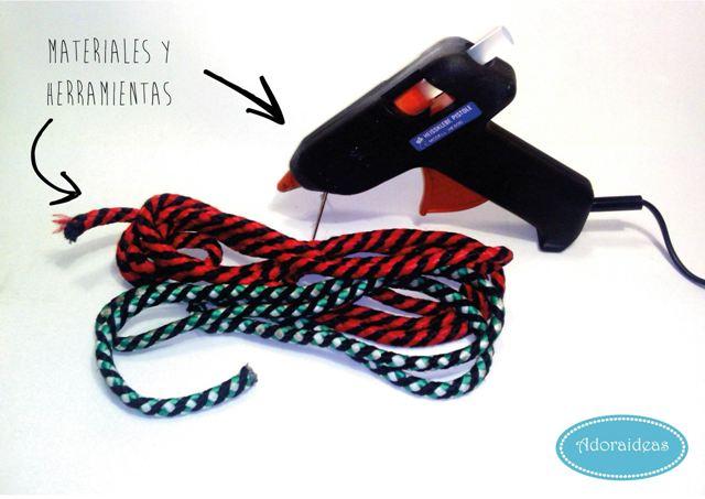 materiales-posavasos-cuerda-jamon-adoraideas