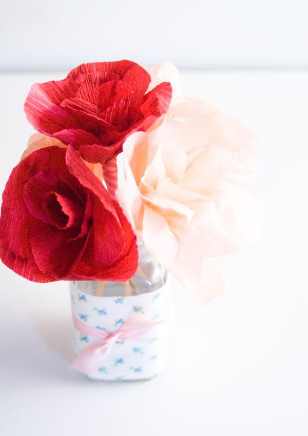 diy-adoraideas-flores -crepe-