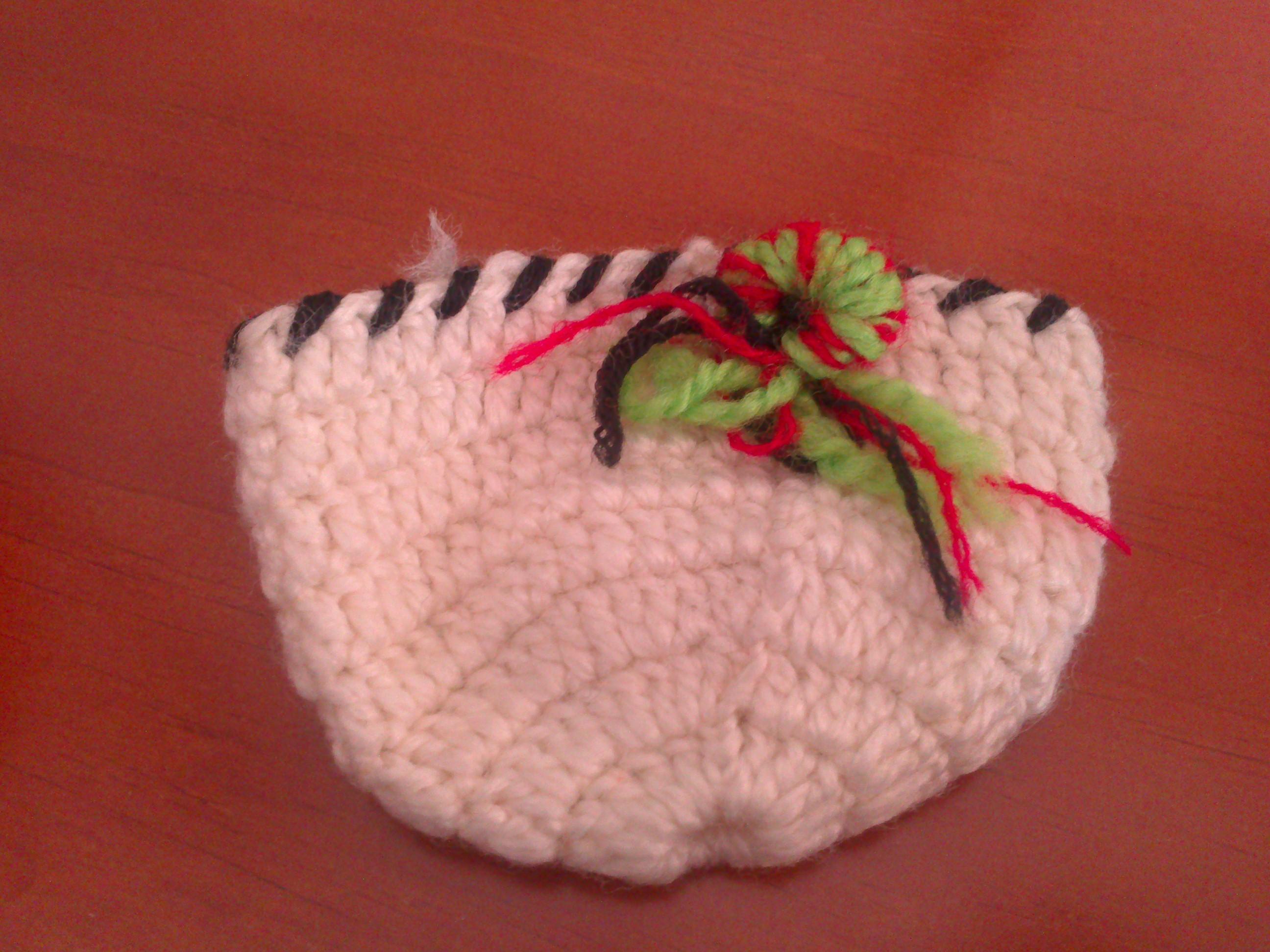 Posavaso crochet