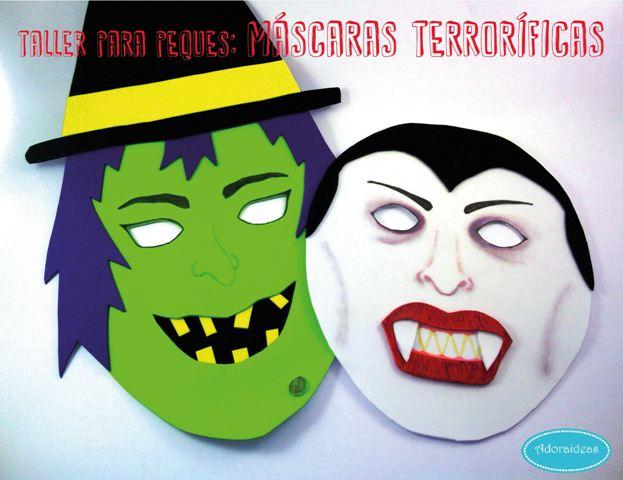 taller-halloween-mascaras-adoraideas