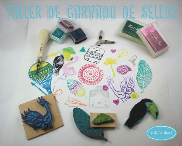 carvado-sellos-adoraideas-taller-sevilla-materiales-lamina