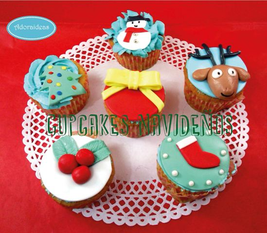 cupcakes-navidad-taller-reposteria-creativa-adoraideas-sevilla