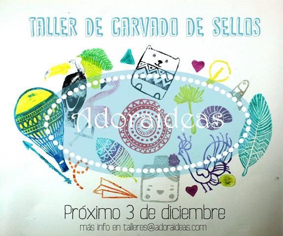 promo-taller-carvado-sellos-adoraideas-contacto