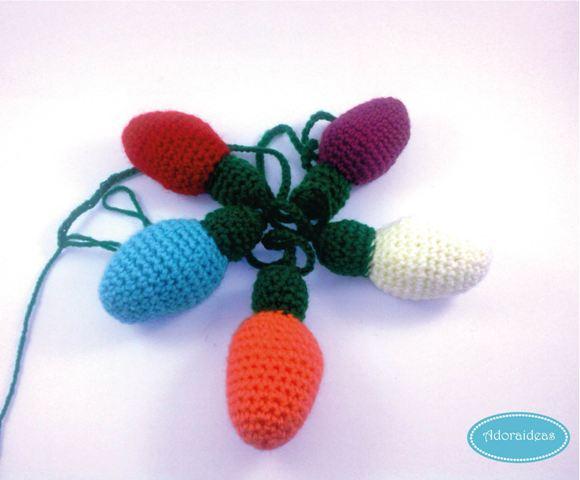 Patrón de amigurumi micromundo navideño de ganchillo | 480x580