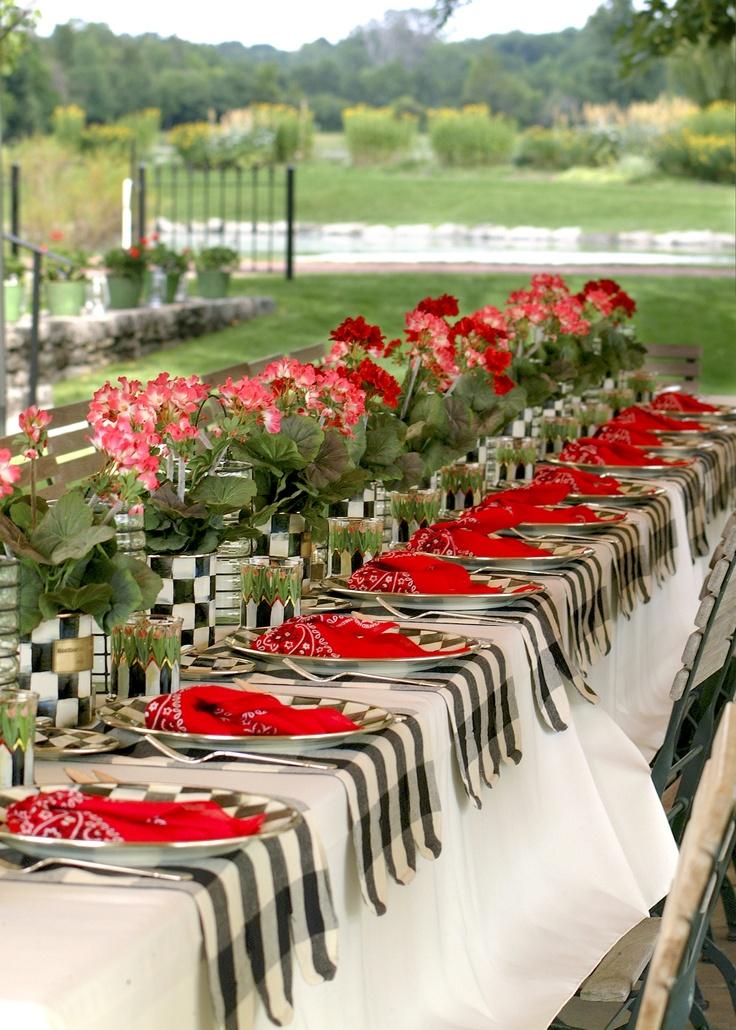 Mesas fiestas archivos blog adoraideasblog adoraideas for Black and white tablescape ideas