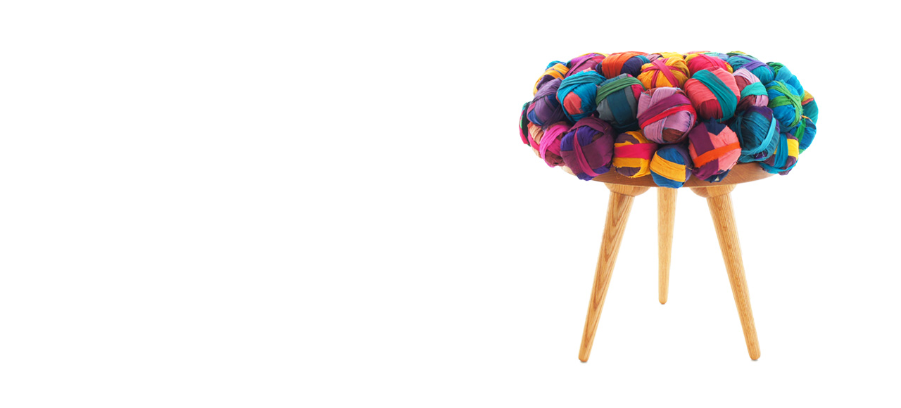 adoraideas, seda reciclada, artesania,decoracion
