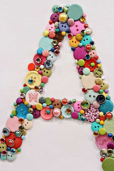adoraideas, decoracion, botones, cuadros, manualidades