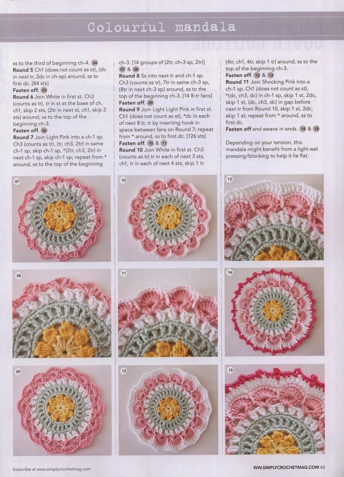 Hermosa Patrones Gráfico Crochet Libre Elaboración - Ideas de ...