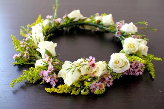 DIY corona flores 11