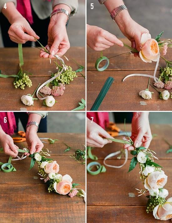 DIY corona flores 2