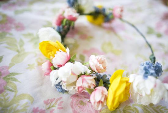 DIY corona flores 6
