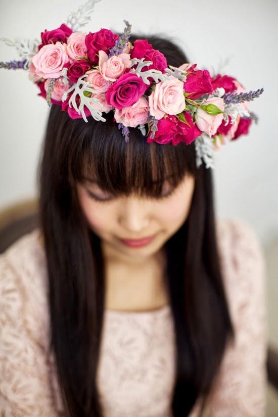 DIY corona flores 9