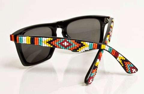 diy gafas piedras