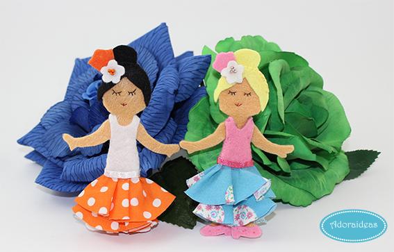 flamencas-fieltro-diy-adoraideas