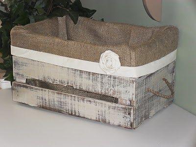 No tires las cajas de fresas blog adoraideasblog - Caja fruta decoracion ...