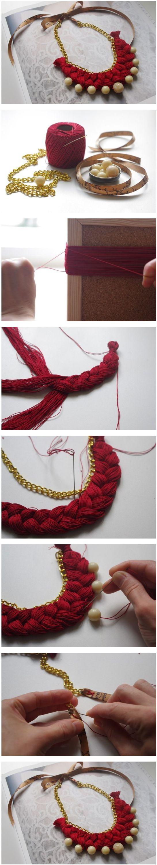 DIY collar hilo