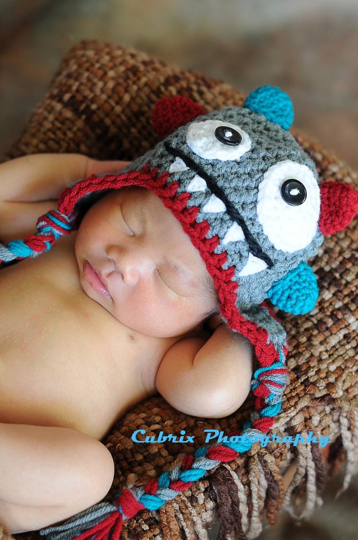 gorro croche bebe