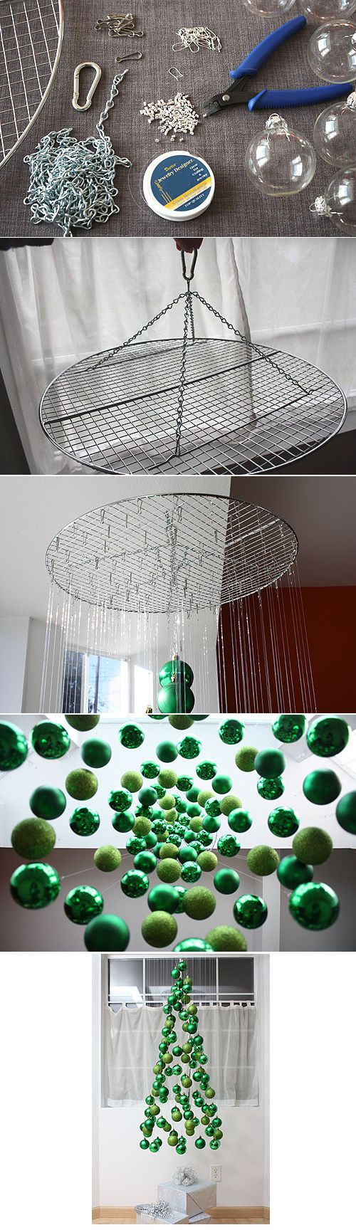 DIY arbol navidad bolas