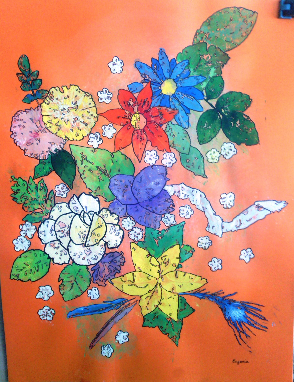 pintura-cuadro-flores-adoraideas